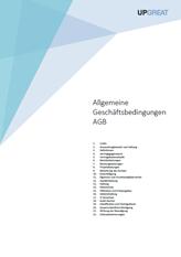 Deckblatt AGB