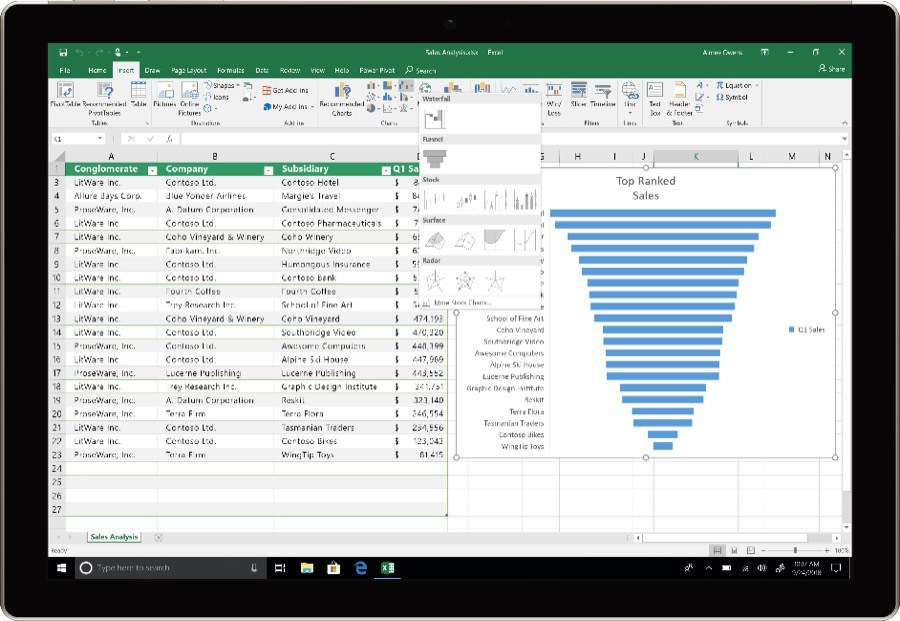 Office 2019 Excel Datenanalyse