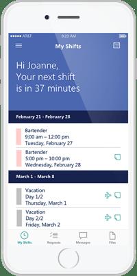 StaffHub iPhone Add-On